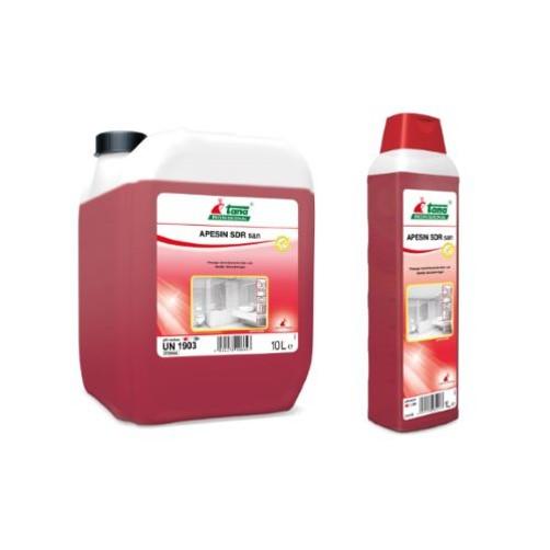 Ισχυρό όξινο καθαριστικό και απολυμαντικό προϊόν. Κατάλληλο για χρήση σε χώρους υγιεινής